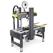 Halbautomatische Kartonverschließmaschine mit selbstständiger Formateinstellung