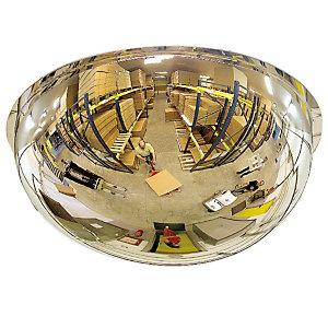 Halfronde spiegel 360° Ø80 cm