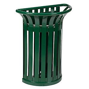 Halfronde vuilnisbak voor buiten Tulipe 35 L