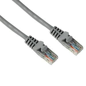 HAMA Câble réseau UTP CAT 5e, 1,50 m, gris