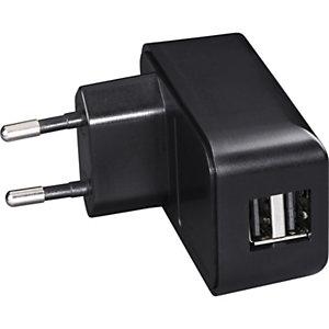 Hama Cargador de dispositivos, 2x USB-A, 2,4 A, negro