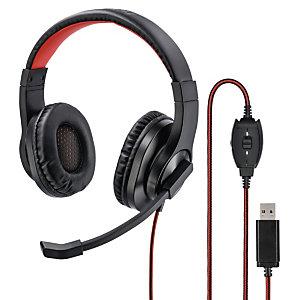 Hama HS-USB400 Auriculares estéreo con micrófono USB