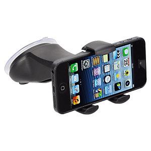 Hama Smart Grip 2 Soporte de coche para smartphone, ancho 5,4-8,5 cm, negro