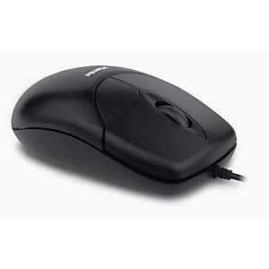 HAMLET Mouse ottico USB, Nero