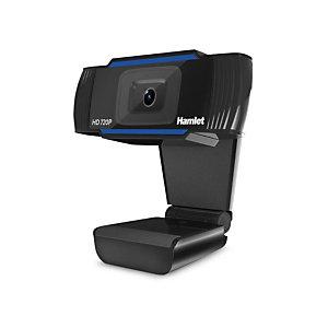 HAMLET Webcam USB HWCAM720 con microfono, Risoluzione 720P HD