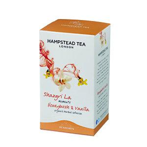Hampstead Tea London Infuso organico Honeybush&Vaniglia, 20 filtri