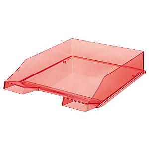 Han Classic Portacorrispondenza, Rosso neon traslucido