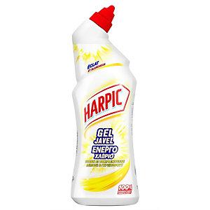 Harpic Gel javel WC désinfectant Citron et Pamplemousse - Flacon de 750 ml