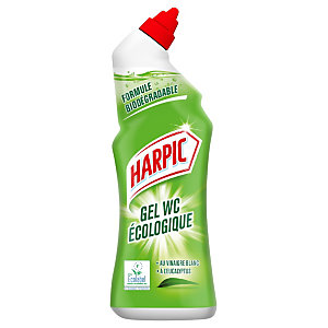 Harpic Gel WC écologique senteur Eucalyptus - Flacon de 750 ml