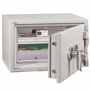 HARTMANN Armoire blindée ignifuge 2 heures  48 litres à serrure électronique