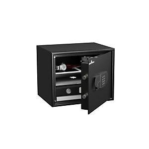 Hartmann Tresore Coffre-fort blindé à serrure électronique, 32 litres - Noir