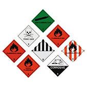 Hazard labels