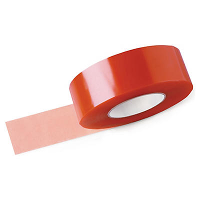 Heavy duty double sided tape, clear