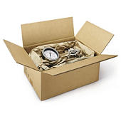 Heavy duty kasse i dobbelt bølgepap - Palletilpasset