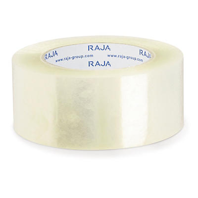 Heavy duty, low noise polypropylene packaging tape