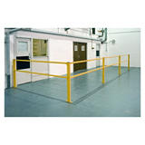 Heavy duty pedestrian barrier system