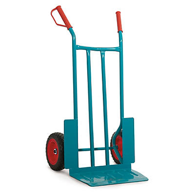 Heavy duty sack truck, extra-wide