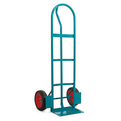 Heavy duty sack truck, 'P' handle
