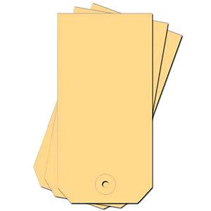 HENKEL 1000 doos-labels, chamois, 70x140mm
