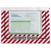 Herkleefbare documentenhoesjes voor export