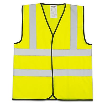 Hi-vis sleeveless vests