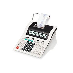 Hitech Calcolatrice stampante da tavolo CX-123N, 12 cifre, Bianco/nero