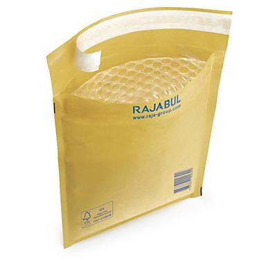 Hnedé bublinkové obálky RAJABUL