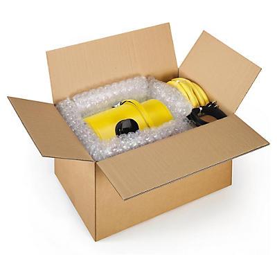Hnědé klopové krabice z pětivrstvé vlnité lepenky RAJABOX, od 400 do 480 mm