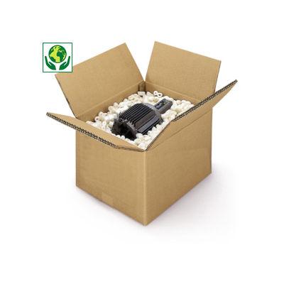 Hnědé klopové krabice ze sedmivrstvé vlnité lepenky 7VVL RAJA