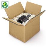 Hnědé klopové krabice ze sedmivrstvé vlnité lepenky 7VVL RAJABOX