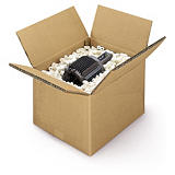 Hnedé klopové krabice zo sedemvrstvovej vlnitej lepenky 7VVL RAJA