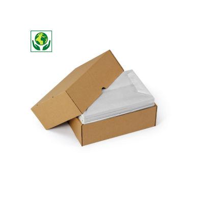 Hnědé krabice s odnímatelným víkem