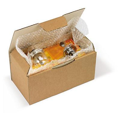 Hnedé poštové krabice RAJA, A4