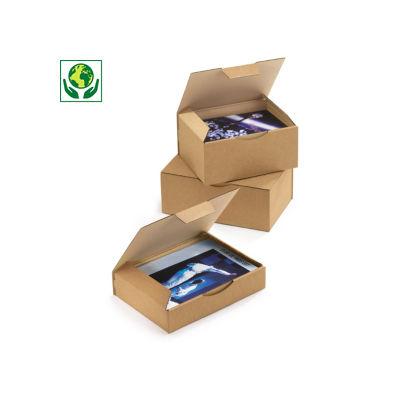 Hnědé poštovní krabice RAJA, A5, A6, A7