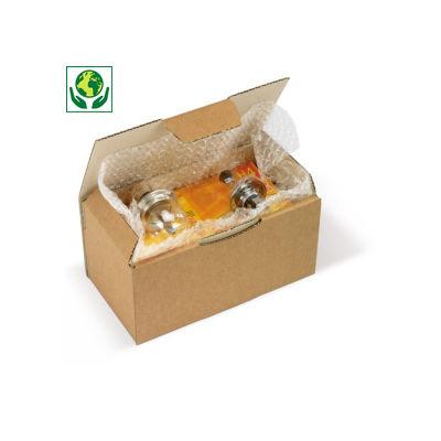 Hnědé poštovní krabice RAJAPOST, A4