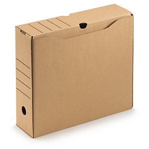 81664183a Hnědé úložné boxy