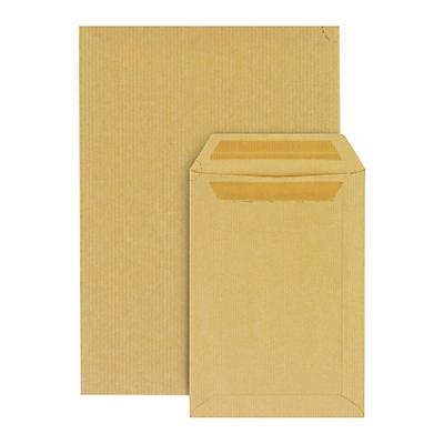 Hnědé zásilkové obálky samolepicí