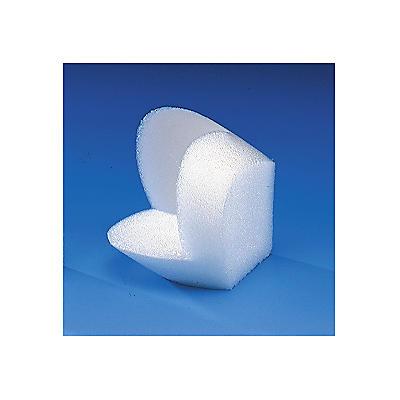 Coin de protection en mousse polyéthylène##Hoekbeschermer van polyethyleen