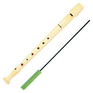 HOHNER Flauta dulce para niños, plástico, marfil