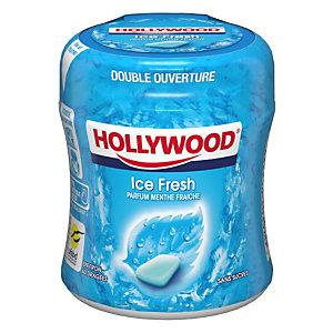 HOLLYWOOD Easy Box Chewing-gum Menthe Polaire sans sucre - Boîte de 60 dragées