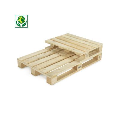 Holzpaletten für mittelschwere Ladungen