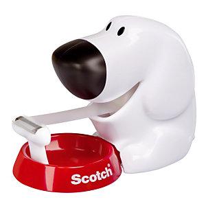 Hond rolhouder  + 1 plakband Scotch Magic 19 mm x 7.5 m.