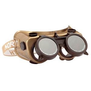 Honeywell Occhiali di sicurezza Amigo, Per saldatura, Policarbonato, Lenti ribaltabili Xanthos 5.0