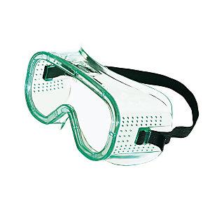 Honeywell Occhiali protettivi di sicurezza a mascherina LG10, Policarbonato, Ventilazione diretta, Lente incolore
