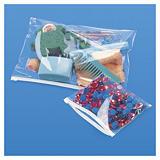 Hoogglanzend plastic zakje met zipsluiting 75 micron