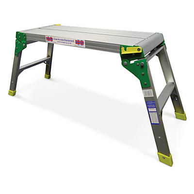 Hop up work platforms and step benches
