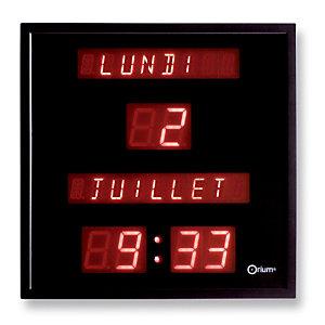 Horloge à date digitale Orium