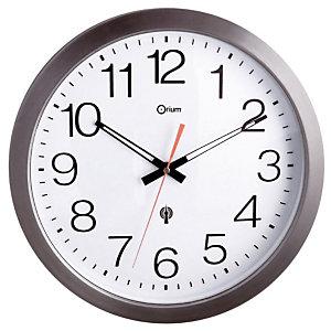 Horloge extérieure radio pilotée inox