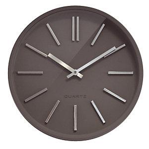 Horloge à quartz Goma silence Ø 35 cm grise
