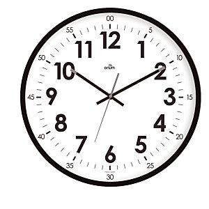 Horloge à quartz Oris  diamètre 40 cm noir